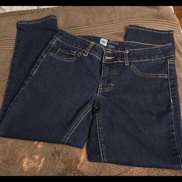 Mossimo Supply Co. Denim - Mossimo Skinny Crop Jeans